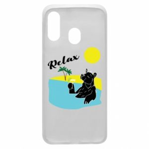 Phone case for Samsung A40 Sea holiday