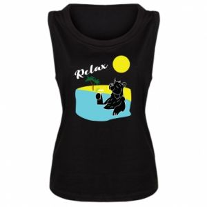 Damska koszulka Wakacje nad morzem - PrintSalon