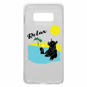 Phone case for Samsung S10e Sea holiday
