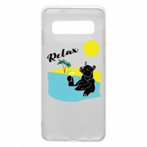 Phone case for Samsung S10 Sea holiday