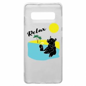 Phone case for Samsung S10+ Sea holiday