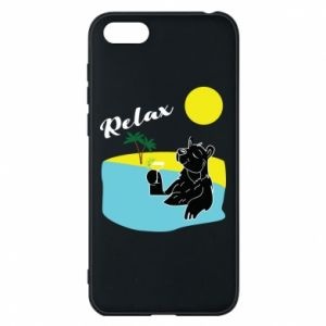Phone case for Huawei Y5 2018 Sea holiday