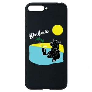Phone case for Huawei Y6 2018 Sea holiday