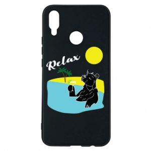 Phone case for Huawei P Smart Plus Sea holiday