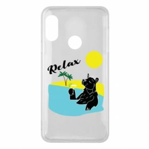 Phone case for Mi A2 Lite Sea holiday