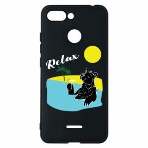 Phone case for Xiaomi Redmi 6 Sea holiday