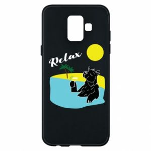 Phone case for Samsung A6 2018 Sea holiday