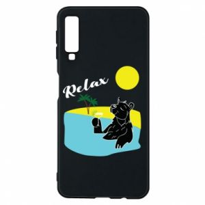 Phone case for Samsung A7 2018 Sea holiday