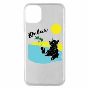 Phone case for iPhone 11 Pro Sea holiday