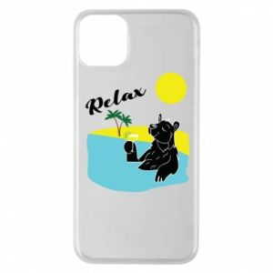 Phone case for iPhone 11 Pro Max Sea holiday