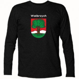 Koszulka z długim rękawem Wałbrzych. Herb