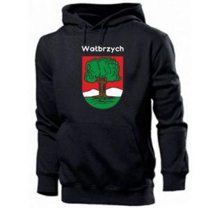 Men's hoodie Walbrzych. Emblem