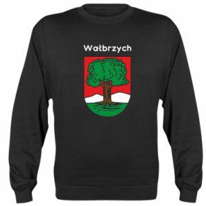 Sweatshirt Walbrzych. Emblem