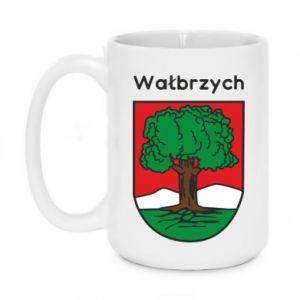 Kubek 450ml Wałbrzych. Herb