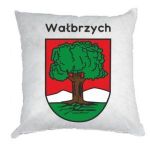 Poduszka Wałbrzych. Herb