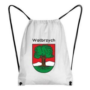 Plecak-worek Wałbrzych. Herb