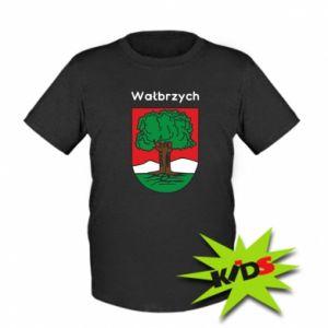Dziecięcy T-shirt Wałbrzych. Herb