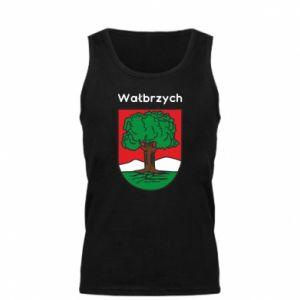 Męska koszulka Wałbrzych. Herb