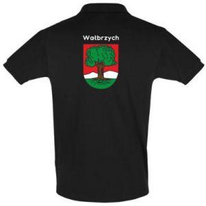 Koszulka Polo Wałbrzych. Herb
