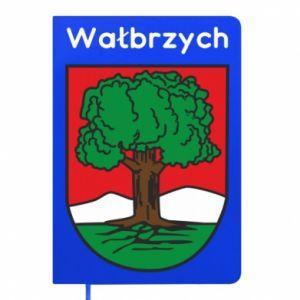 Notes Wałbrzych. Herb