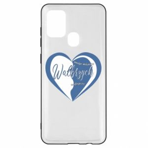 Samsung A21s Case Walbrzych. My city is the best