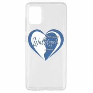 Samsung A51 Case Walbrzych. My city is the best
