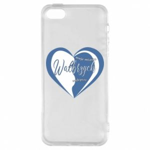 iPhone 5/5S/SE Case Walbrzych. My city is the best