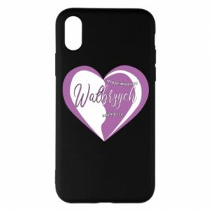 iPhone X/Xs Case Walbrzych. My city is the best
