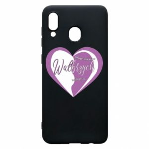 Samsung A30 Case Walbrzych. My city is the best
