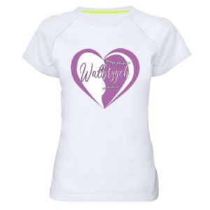 Women's sports t-shirt Walbrzych. My city is the best