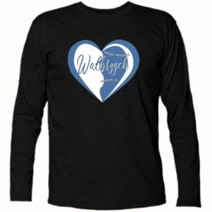 Long Sleeve T-shirt Walbrzych. My city is the best