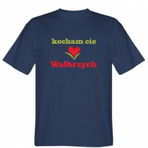 T-shirt I love you Walbrzych