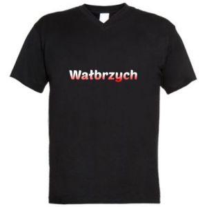 Męska koszulka V-neck Wałbrzych
