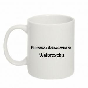 Kubek 330ml Pierwsza dziewczyna w Wałbrzychu
