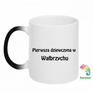 Chameleon mugs The first girl in Walbrzych