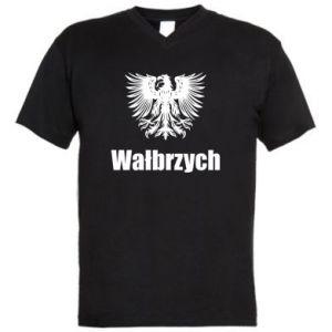 Męska koszulka V-neck Wałbrzych - PrintSalon