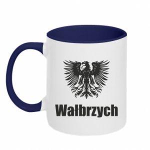 Kubek dwukolorowy Wałbrzych - PrintSalon