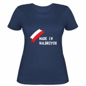 Women's t-shirt Made in Walbrzych