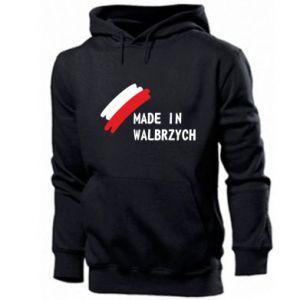 Męska bluza z kapturem Made in Walbrzych