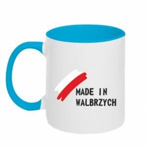 Kubek dwukolorowy Made in Walbrzych