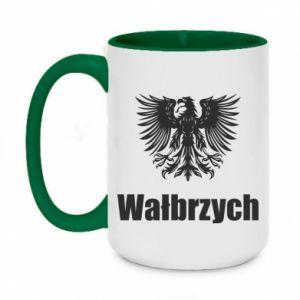 Two-toned mug 450ml Walbrzych