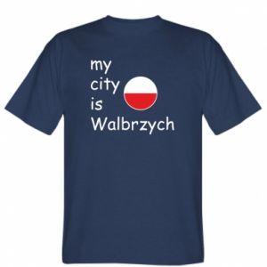 Koszulka My city is Walbrzych