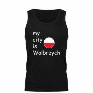 Męska koszulka My city is Walbrzych