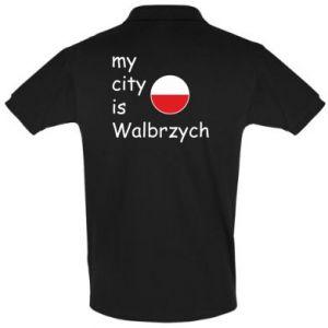 Koszulka Polo My city is Walbrzych