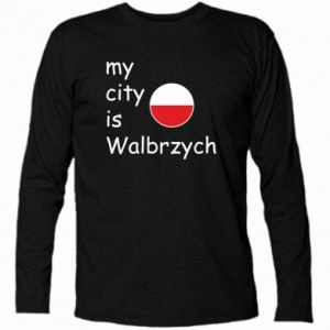 Koszulka z długim rękawem My city is Walbrzych