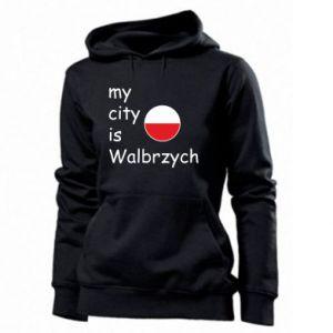 Damska bluza My city is Walbrzych