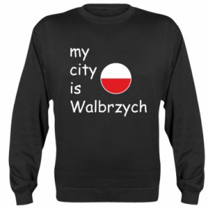 Bluza (raglan) My city is Walbrzych