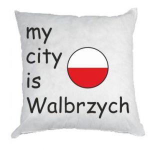 Poduszka My city is Walbrzych
