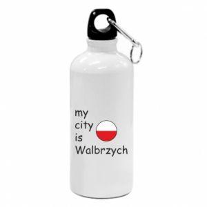 Water bottle My city is Walbrzych