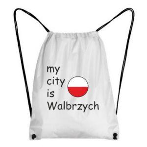 Plecak-worek My city is Walbrzych